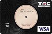ТАСкомбанк – Картка «Платівка» Visa Classic гривні