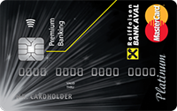 Райффайзен Банк Аваль – Картка «Преміальна Platinum Selective PayPass» MasterCard гривні