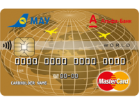 Альфа-Банк — Карта «Альфа Sky Pass World» MasterCard Gold гривны