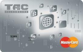 Таскомбанк — Карта «Оптимальный» MasterCard Standard гривны