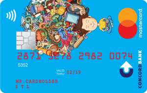 Конкорд Банк — Карта «inJoy» MasterCard гривны