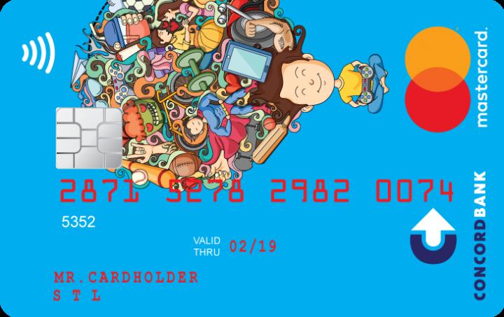 Банк Конкорд — Карта «inJoy» MasterCard Standard гривны