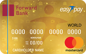Forward Bank — Карта «EasyPay кобренд» Mastercard World гривны