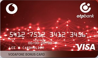 ОТП Банк — Карта «Vodafone Bonus Card» Visa International гривні