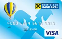 Райффайзен Банк Аваль — Карта «Мгновенная» Visa гривны