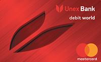 Юнекс Банк — Карта «ХочуКа» MasterCard World гривны