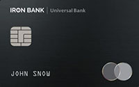 Monobank — Карта «IRON BANK» MasterCard World гривны