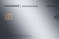 monobank — Карта Platinum Mastercard гривны
