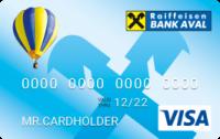 Райффайзен Банк Аваль — Карта «Пенсионная легкая» Visa Unembossed гривны