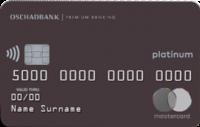 Ощадбанк — Карта «Премиальная карта» MasterCard Debit Platinum гривны