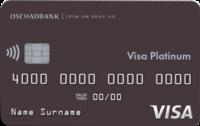 Ощадбанк — Карта «Премиальная карта» Visa Platinum гривны