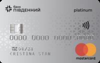 Банк Пивденный — Карта «Мрийка» MasterCard Platinum гривны