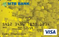 МТБ Банк — Карта «Benefit» Visa Gold гривны