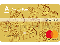 Альфа-Банк — «Альфа-Connect» MasterCard World гривны