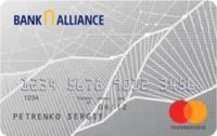 Банк Альянс — Карта «Для физических лиц» MasterCard Standard, гривны