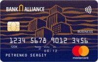 Банк Альянс — Карта «Для владельцев зарплатных карт» MasterCard Platinum, гривны