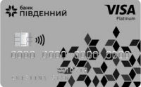 Банк Пивденный — Карта «Мрийка» Visa Platinum гривны