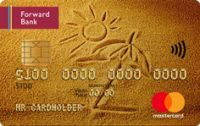 Forward Bank - Карта «Авторская карта Gold (PayPass)» MasterCard Gold гривны