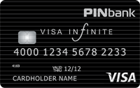 PINbank — Карта «Зарплатная с овердрафтом» Visa Infinite гривны