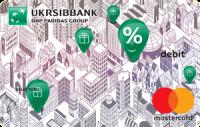 УкрСибБанк — Карта «Пенсионная» MasterCard Debit гривны