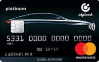 ОТП Банк — Карта «Для автомобилистов. Global Auto Card» MasretCard Platinum гривны
