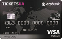 ОТП Банк — Карта «Для путешественников.Tickets Travel Card» Visa Platinum доллары