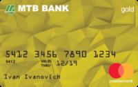 МТБ Банк — Карта «Benefit» MasterCard PP Gold гривны