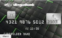 Укргазбанк — Карта «Эко-кредитка» MasterCard Debit гривны