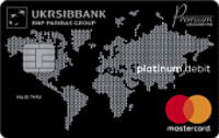 УкрСибБанк — Карта «ALL INCLUSIVE DE LUXE» MasterCard Gold Contactless доллары