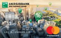 УкрСибБанк — Карта «All Inclusive Start» MasterCard Debit Contactless доллары