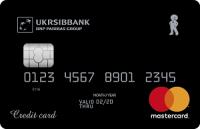 УкрСибБанк — Карта «Шопинг карта Кредит Наличными» MasterCard Standard гривны