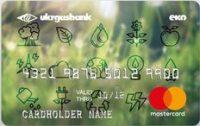 Укргазбанк — Карта «Эко-карта» MasterCard Standard гривны