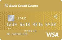 Банк Кредит Днепр – Карта