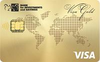 Банк инвестиций и сбережений – Карта депозитная «Прибыльный кошелек» Visa Gold евро