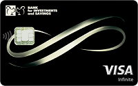 Банк инвестиций и сбережений – Карта Visa Infinite гривны