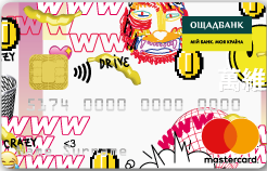 Ощадбанк — Карта «Детская» MasterCard Prepaid гривны