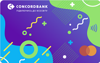 Конкорд Банк – Карта