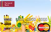 Forward Bank – Карта «Авторская» MasterCard Gold гривны