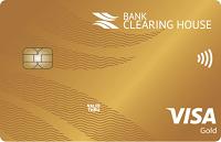 Банк Клиринговый дом – Карта для выплат Visa Gold гривны