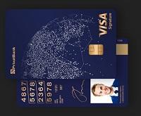 ПриватБанк – Карта Visa Signature гривны